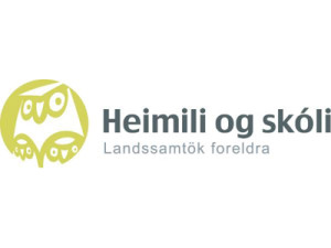 Heimili og skóli logo